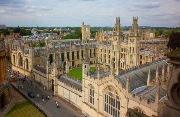 oxford from roof