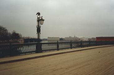 Bridge over the Neva RIver.