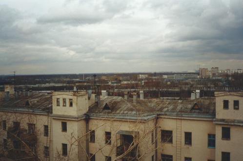 St Petersburg rooftops.