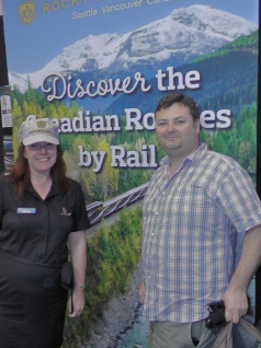 Julie from Rocky Mountaineer