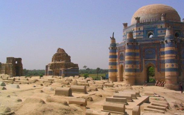 The amazing shrines of Uch Shariff.