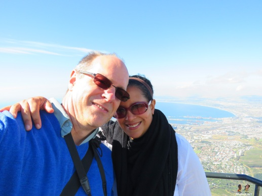 On Table Mountain, South Africa