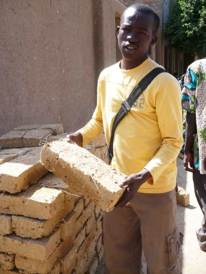 bricks in djenne