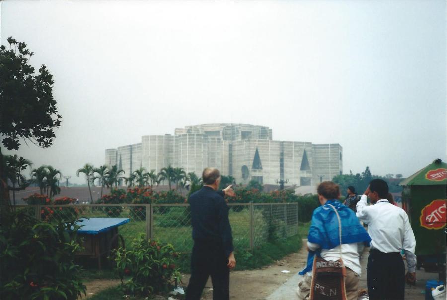 Dhaka Houses of Parliament.