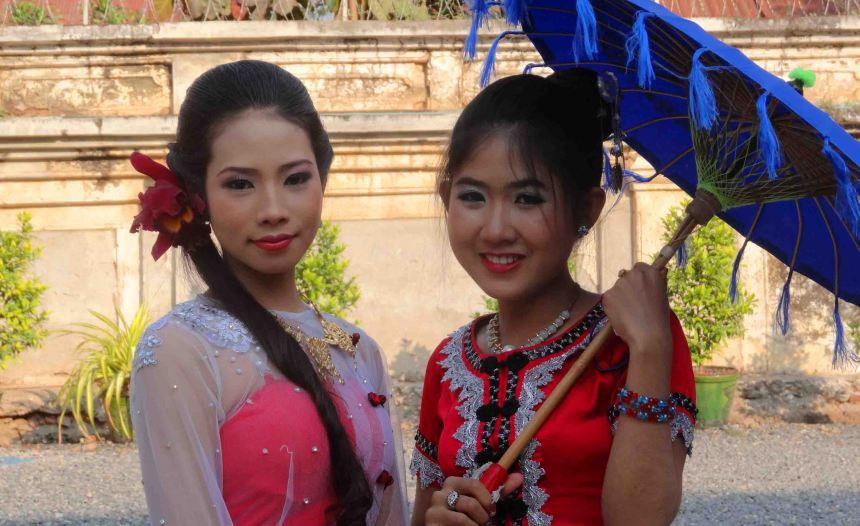 girls at Mandalay