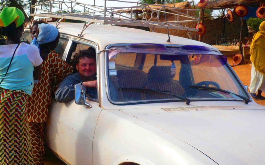 in a car mali