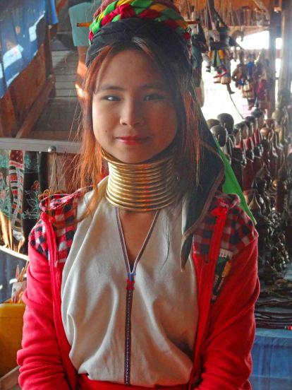 long necked girl