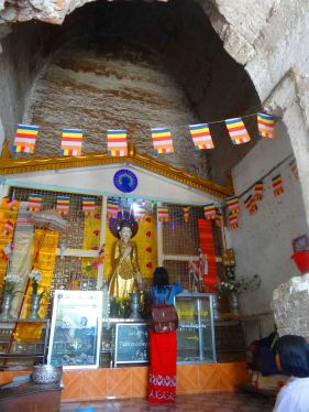 Small shrine in the Mingun Paya.