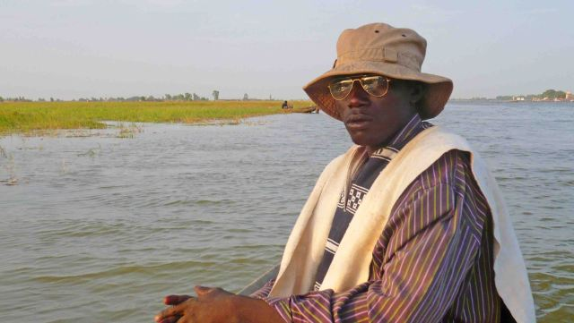 on the river mopti