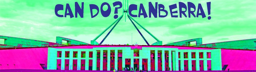 banner can do canberra copy