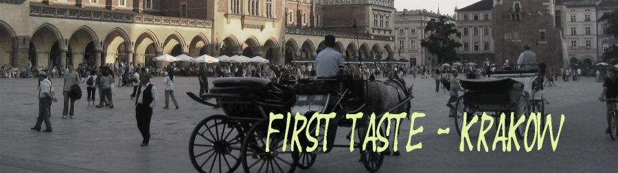banner first taste krakow copy