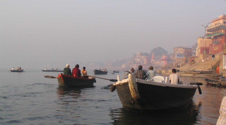 boats on the ganges varanasi