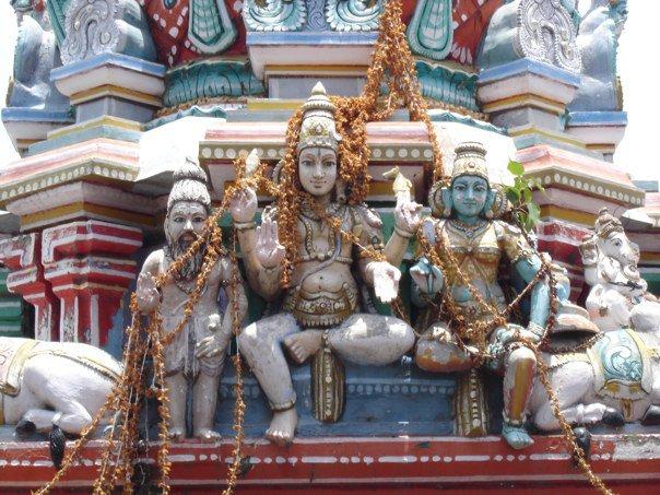 Deities on the Kapleeshwarar Temple