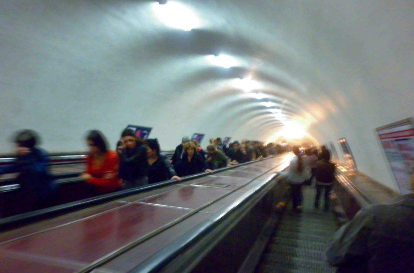 escalators in tbilisi