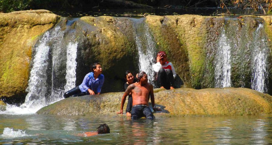 Escape the heat, swim, relax!