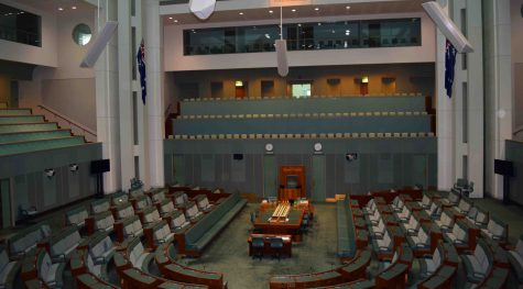 Inside the House of Representatives, Parliament House.