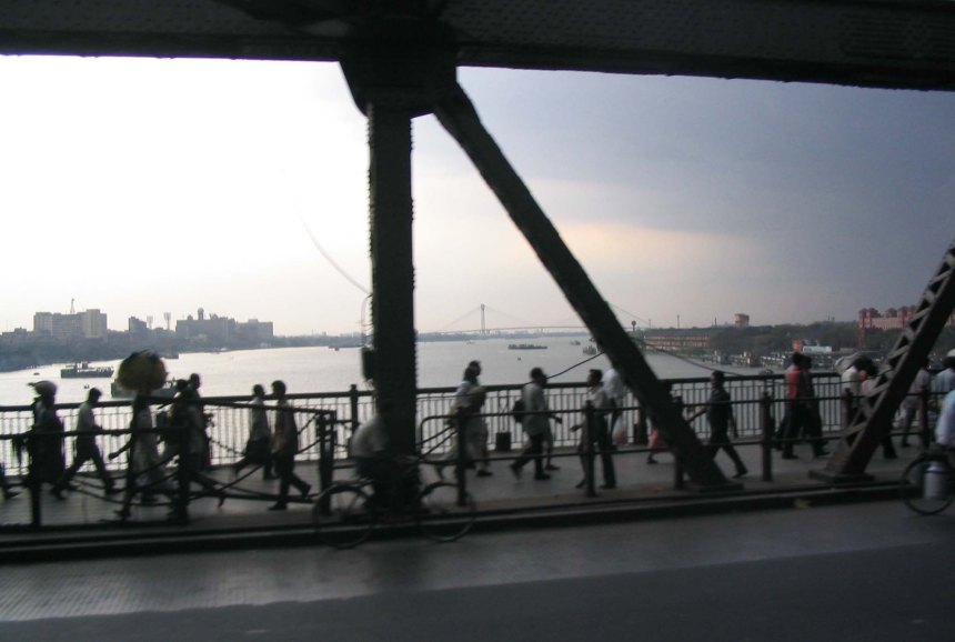 A bridge in Kolkata.