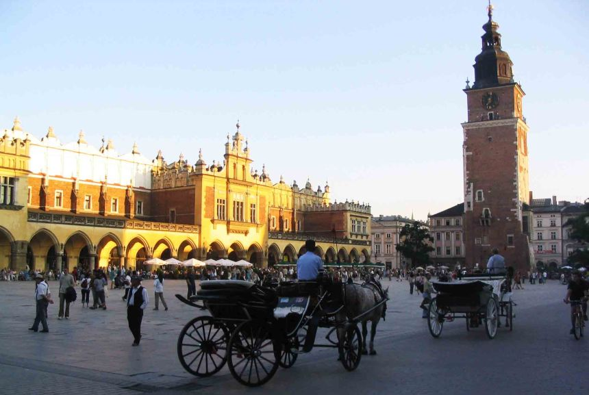 Central Square, Krakow
