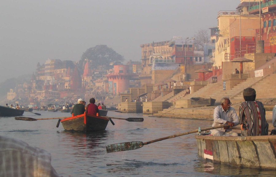 morning on the ganges varanias