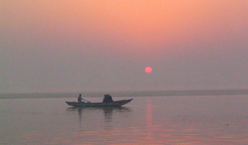 sunrise ganges varanasi 1