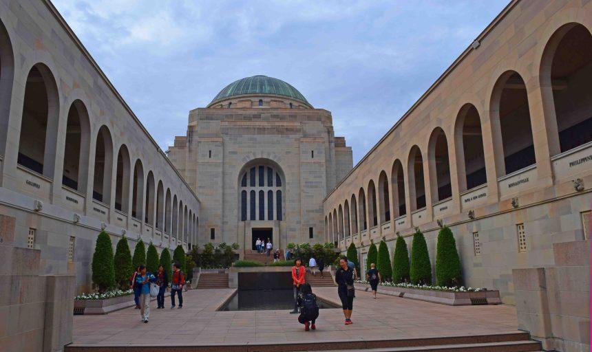 The War Memorial.