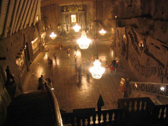 Chamber inside the Salt Mine.