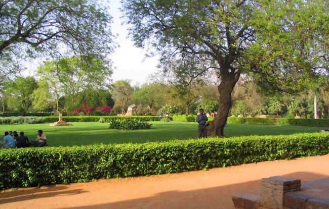 Beautiful Gardens at the complex.
