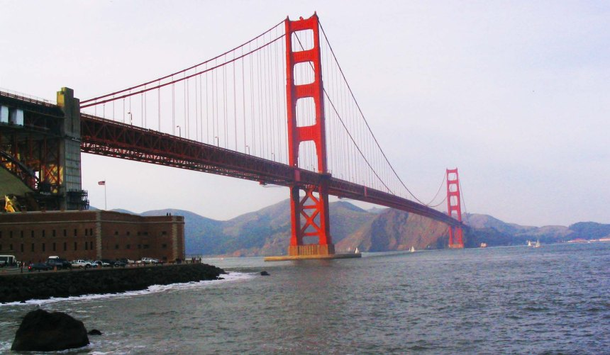 golden gate bridgr