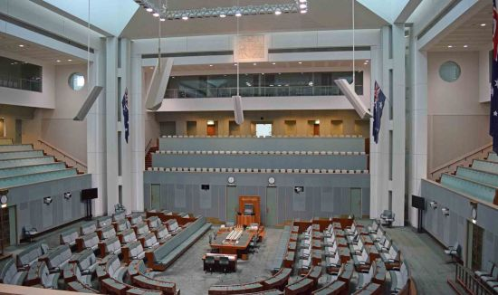 House of Representatives (New) Parliament House.