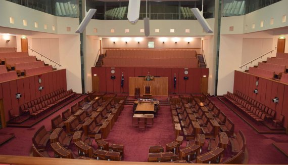 Senate in (new) Parliament House.