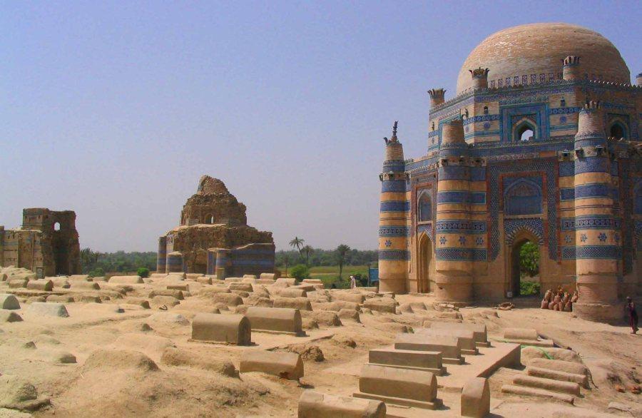 The three main shrines.