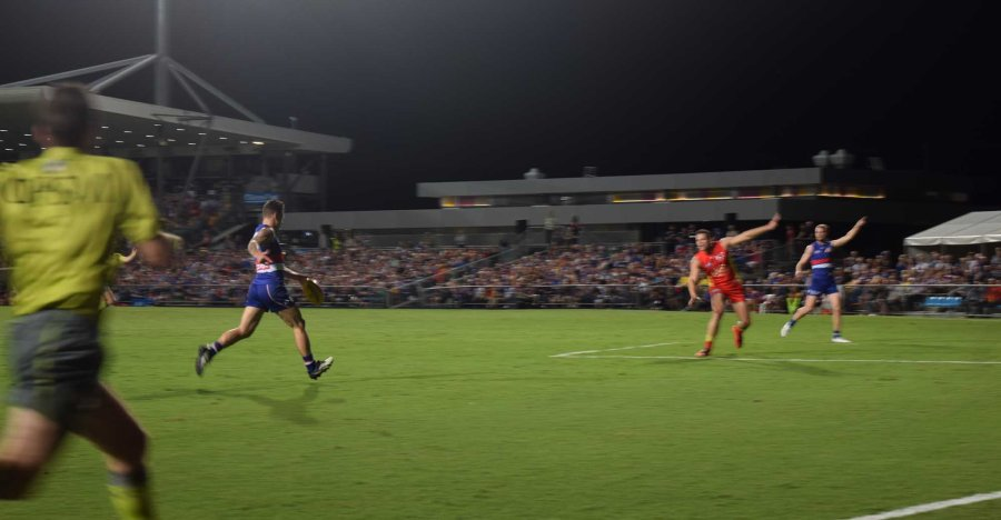 Football in Cairns.