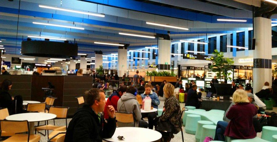 Terminal 4 Melbourne Airport.