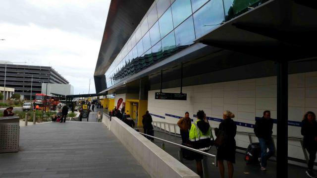 Terminal Four at Tullamarine