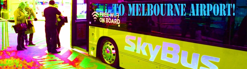 to melbourne airport banner