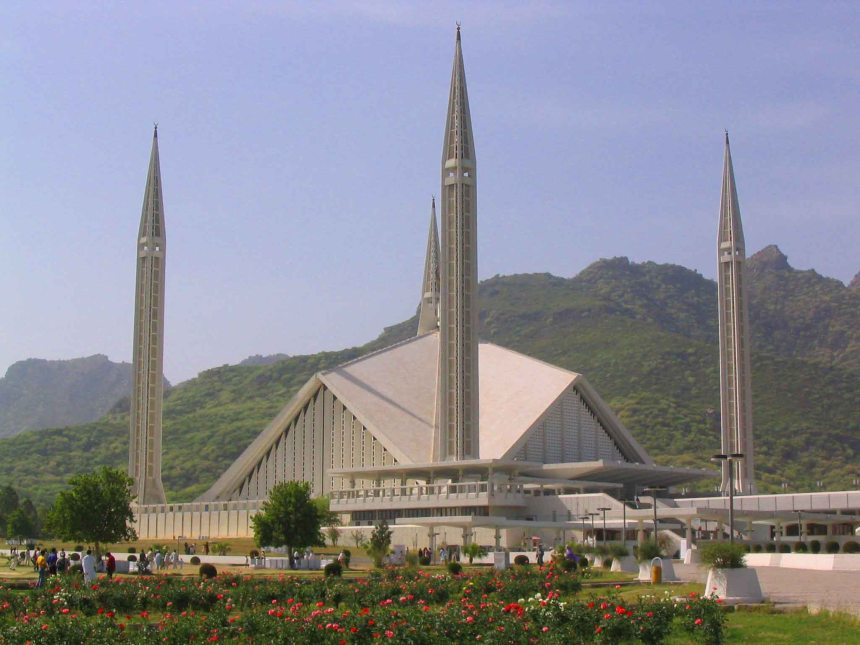 King Faisal Mosque, Islamabad.