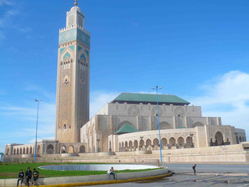 The Hassan II Mosque - simply breathtaking!