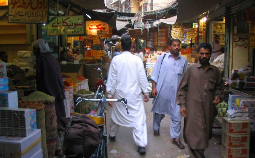 A market in Rawalpindi.