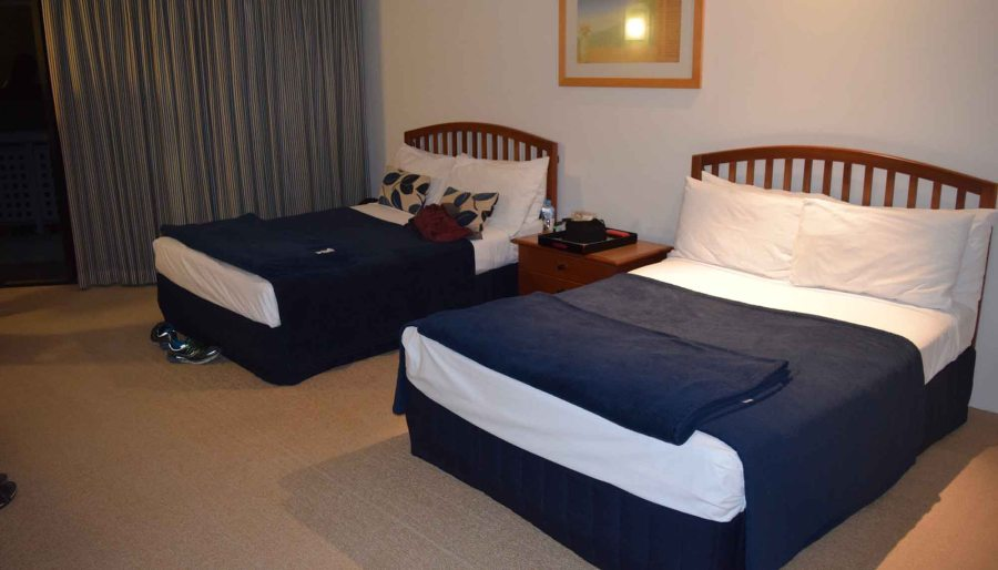 rydges main room