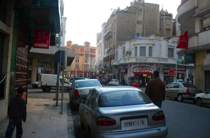 Casablancan street.