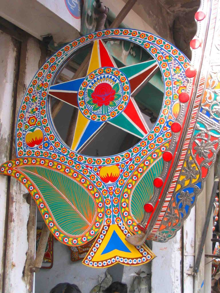Truck art, Rawalpindi.