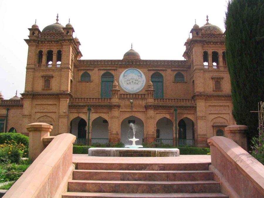 Islamia College University, near Peshawar.