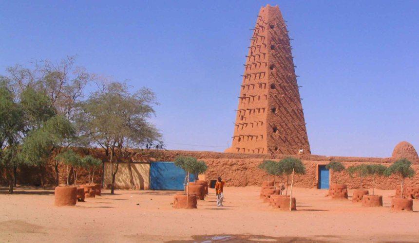 The Grand Mosque, Agadez.