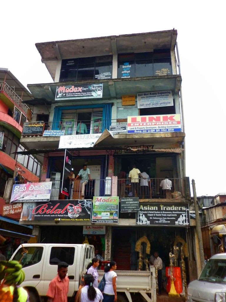 Building in Kandy.