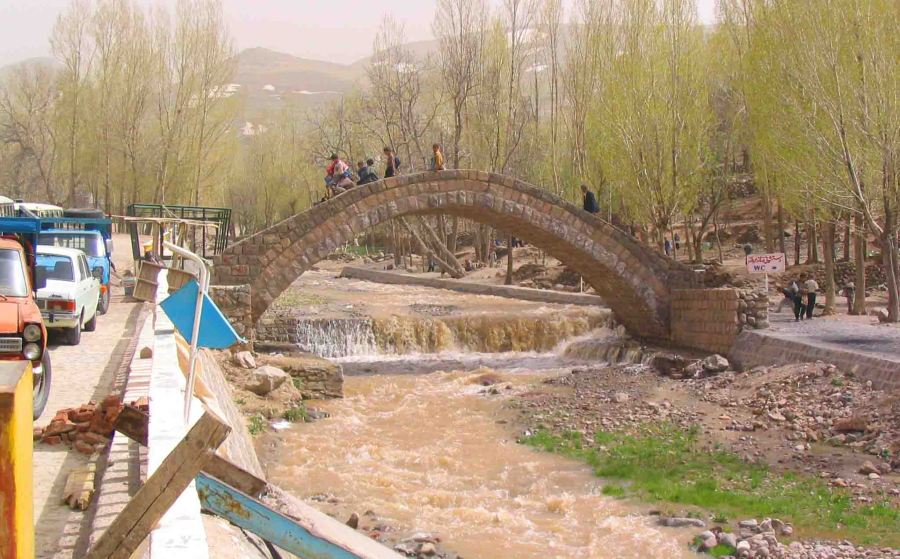 Bridge at Kandovan.