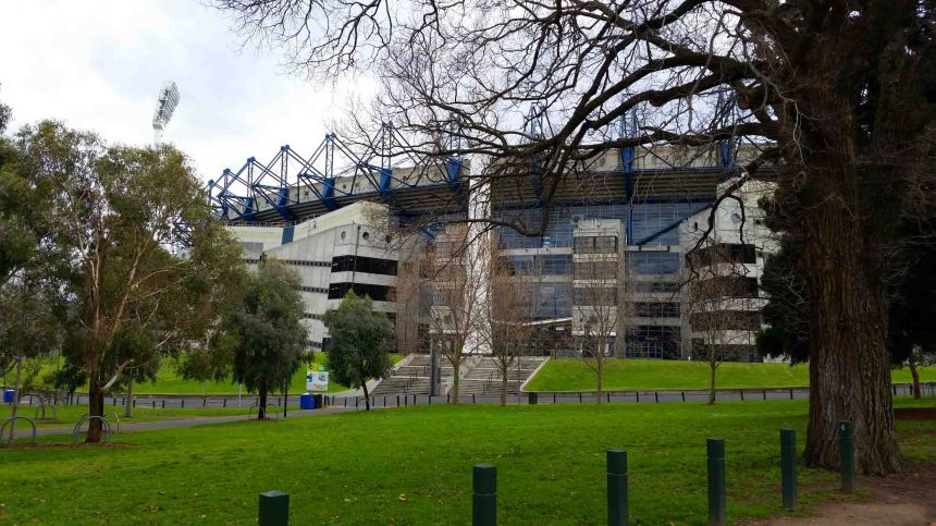 The MCG - home to the museum and Australia's biggest sports' stadium.