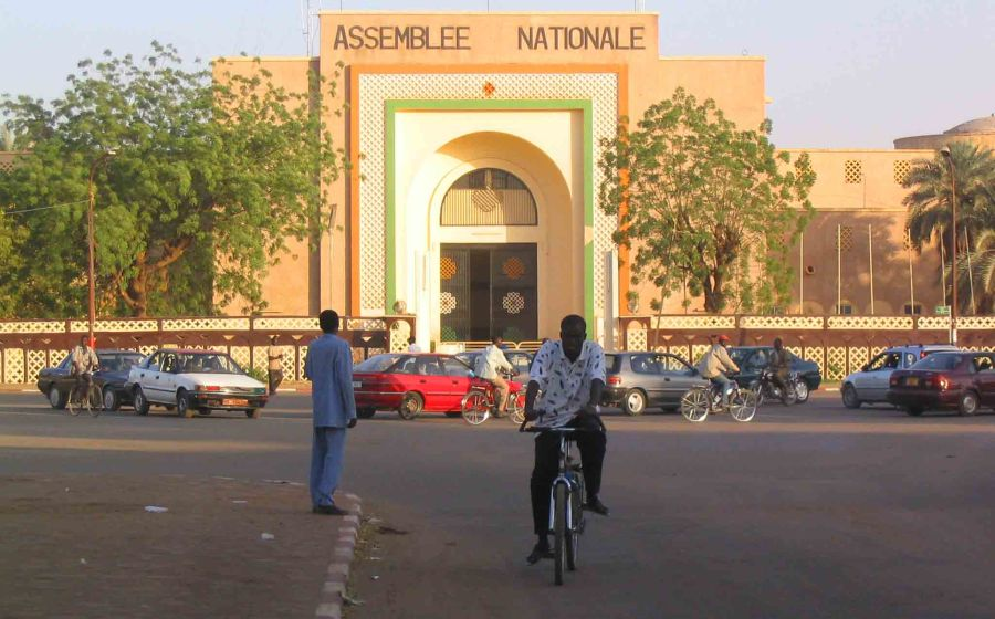 The National Assemmbly in Niamey.