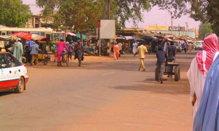 Niamey street.