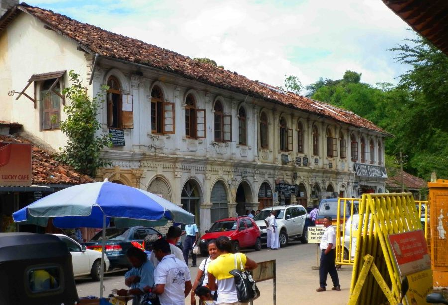 Old building in Kandy.
