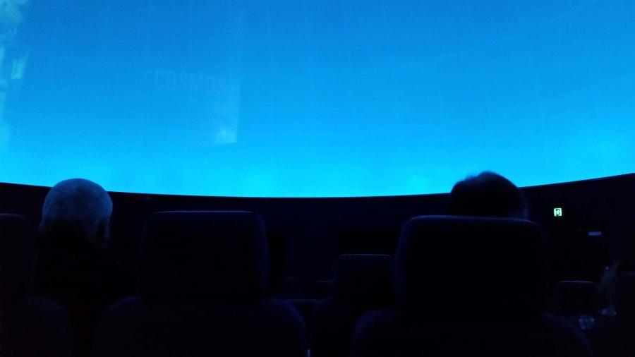The planetarium show begins!